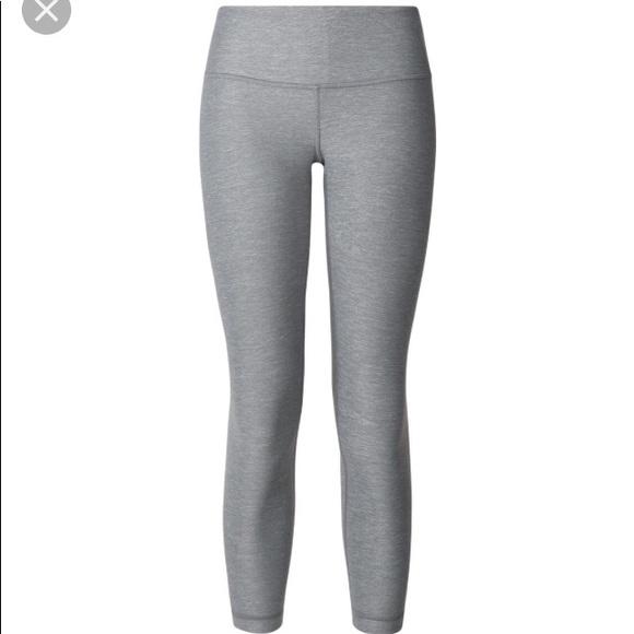 2ded3e8500 lululemon athletica Pants - Lululemon wunder under III Heathered Slate Gray